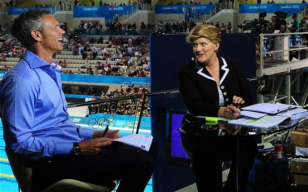 Clare Balding at London 2012