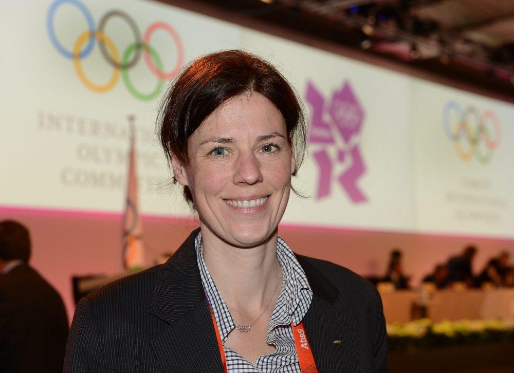 Claudia Bokel at London 2012