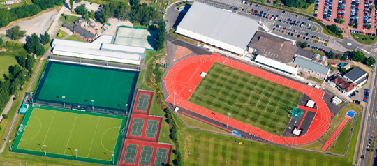 Competitions will take place at the Swansea University International Sports Village
