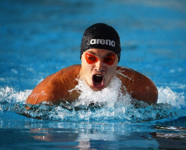 Danylo Chufarov set a world record on his way to victory in the mens SM12 200m individual medley