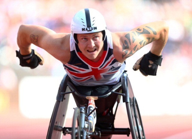 David Weir was one of the British athletes that shone at last years London 2012 Paralympics