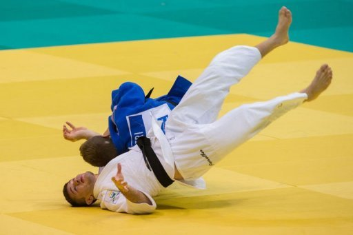 France's Loic Pietri beat Brazil's world number one Victor Penalber on her way to the gold medal at the World Championships