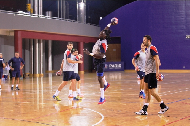 French handball champions Paris Saint-Germain took part in a pre-season camp in Doha