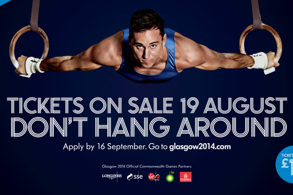 """Glasgow 2014 posters may warn people """"not to hang around"""" for tickets but officials claim there is still plenty of time to buy them"""