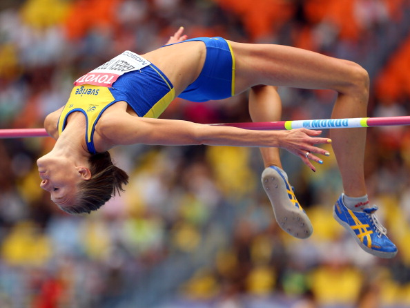 Emma Green Tregaro was told to remove her rainbow coloured nail varnish by Swedish officials at the IAAF World Athletics Championships in Moscow last week