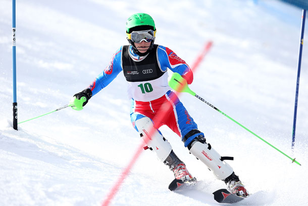 Heather Mills is a step closer to qualifying for Sochi 2014 after winning a silver medal at the Winter Games in New Zealand