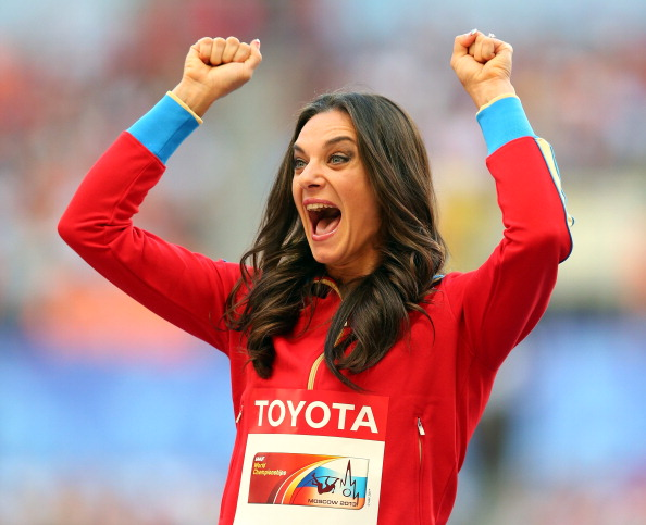 Yelena Isinbayeva shocked press with her comments, before claiming  they were misinterpreted the next day