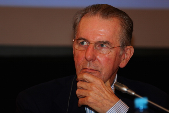 Jacques Rogge Moscow August 8 2013