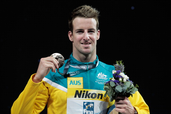 James Magnussen retained his world title in the men's freestyle 100m last month in Barcelona, but has been warned that he will miss out on Rio 2016 if he commits any further misconduct