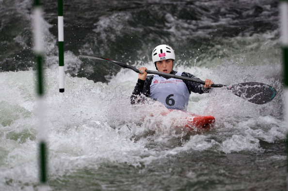Jessica Fox secured the 2013 Canoe Slalom World Cup series in the C1 discipline