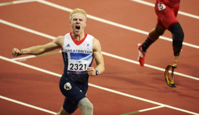Jonnie Peacock was one of the stars of last years Paralympic Games in London