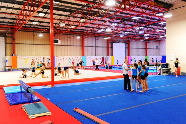 MK Springers gymnastics club in Milton Keynes received a 50000 grant from the Inspired Facilities programme