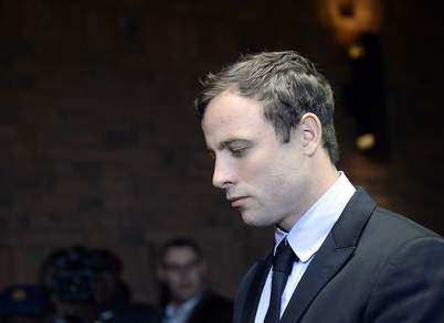 Oscar Pistorius returned to court today where he was formally charged with murder and told he will face trial next March