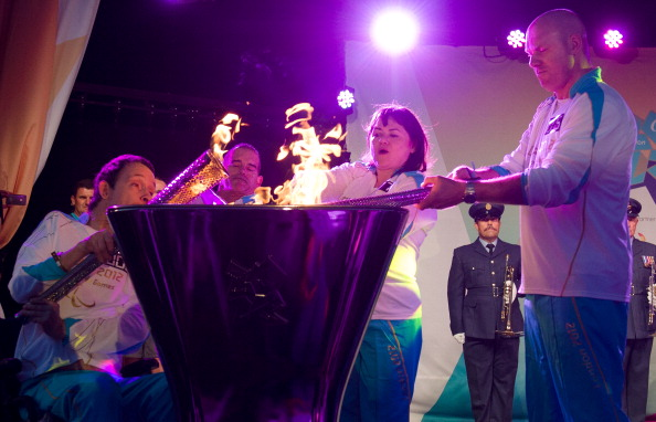 The Paralympic Torch lighting cauldron and a torch from the Relay will be displayed for visitors at Stoke Mandeville Stadium on September 7