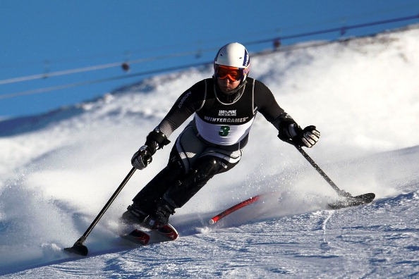 Paralympic alpine skiing champion Adam Hall
