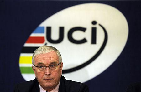 Professional staff at the UCI are accused of helping Pat McQuaid's election campaign for a third term as President at the expense of British rival Brian Cookson
