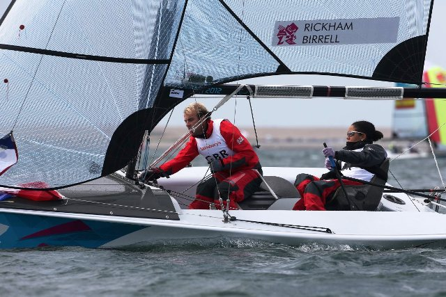 Niki Birrell left and Alexandra Rickham will be going in search of their fifth successive World Championship title in Kinsale this week