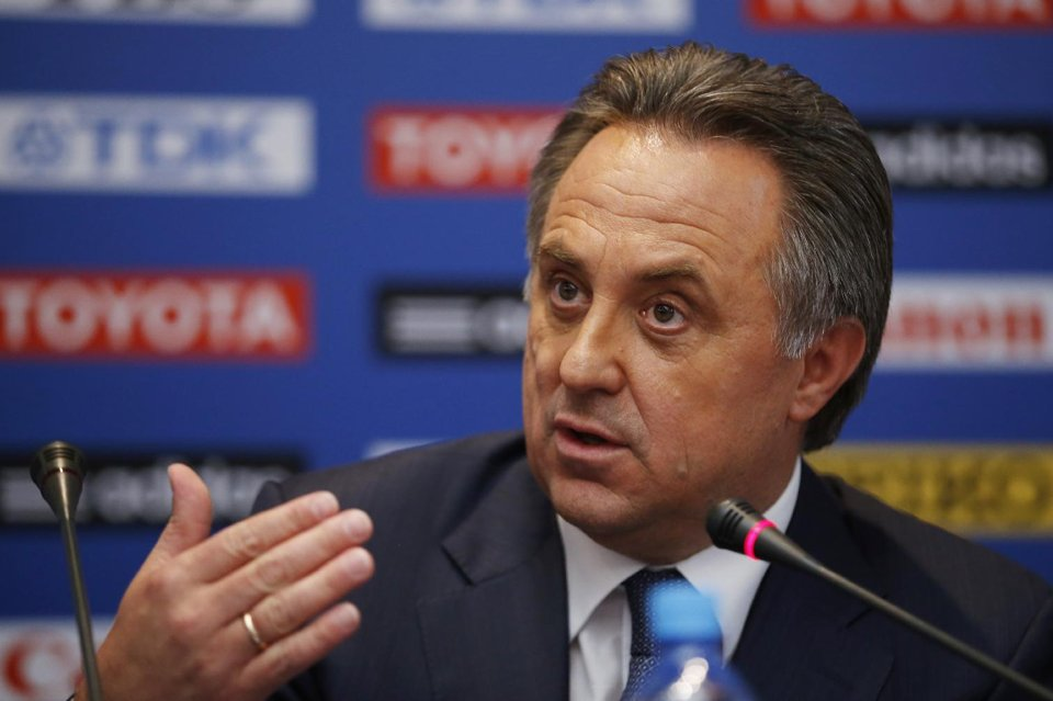 """Russian Sports Minister Vitaly Mutko claims that the controversy over his country's controversial anti-gay law is the """"invention"""" of the media"""