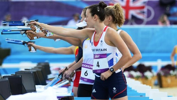 Samantha Murray was part of  the Great Britian team that won World Championship team gold in Chinese Taipei