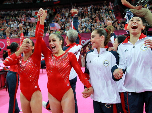 Same-sex handholding is common place at the Olympics