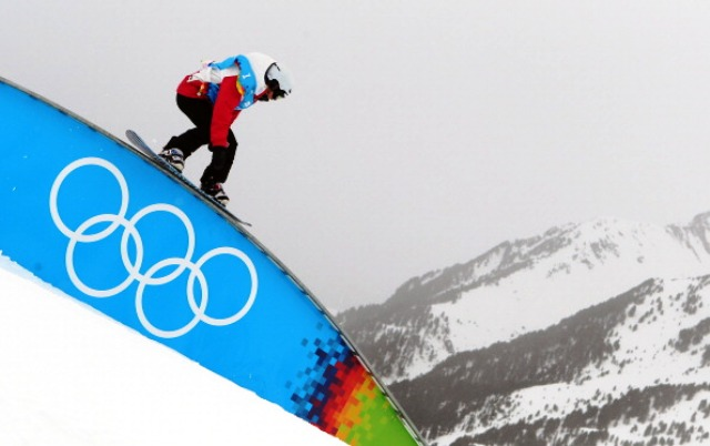 Slopestyle snowboarding and freestyle skiing competitions took place at the 2012 Winter Youth Olympic Games in Innsbruck