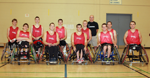 The Canadian under-23's national wheelchair basketball team will step up their preparations for next month's World Junior Championships in the Turkish city of Adana with a series of friendlies against Great Britain at the birthplace of the Paralympic Movement, Stoke Mandeville.