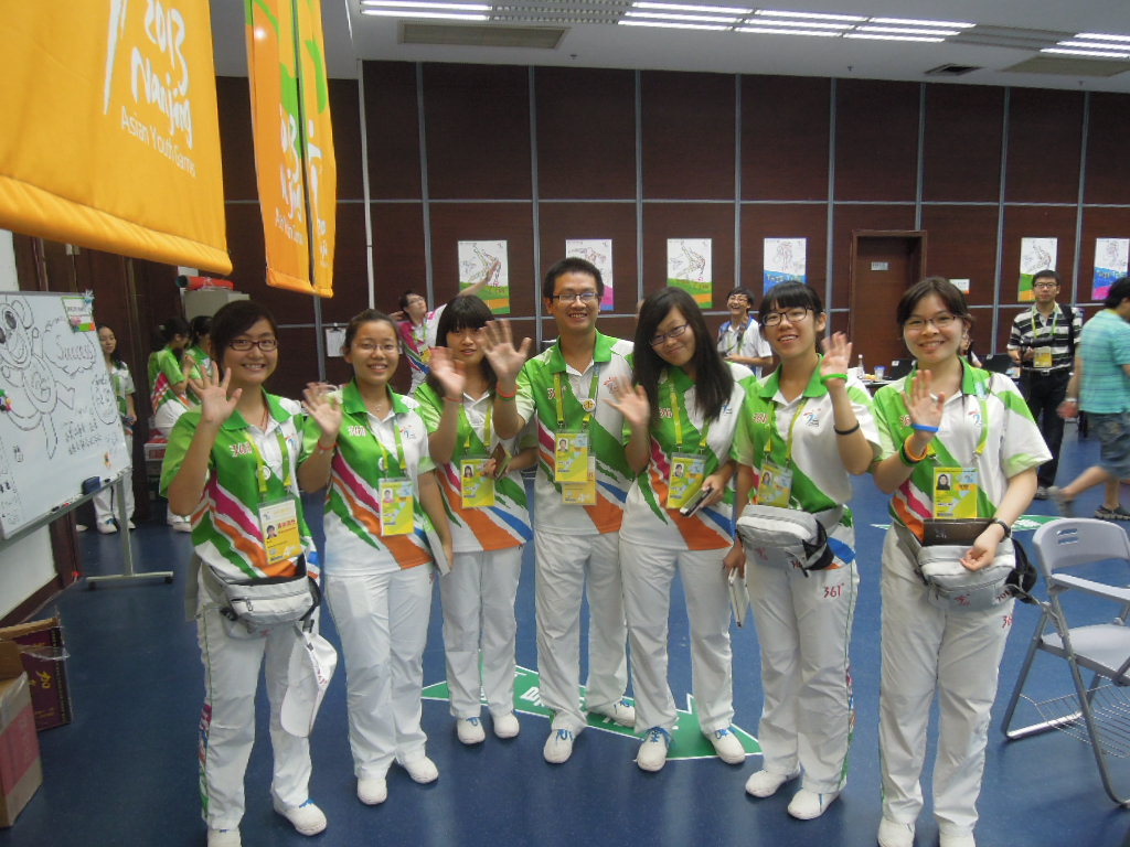 The 13,500 volunteers were one of the defining memories of the Asian Youth Games