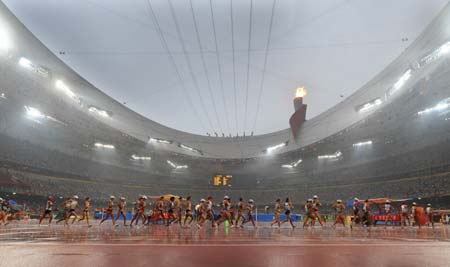 The IAAF World Championships in 2015 will be staged later in Beijing than the 2008 Olympics to try to ensure better weather conditions