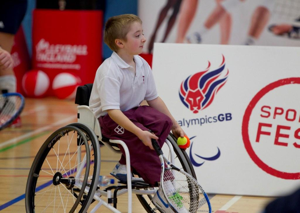 The ParalympicsGB Sports Fest has been a great platform for introducing people to disability sport