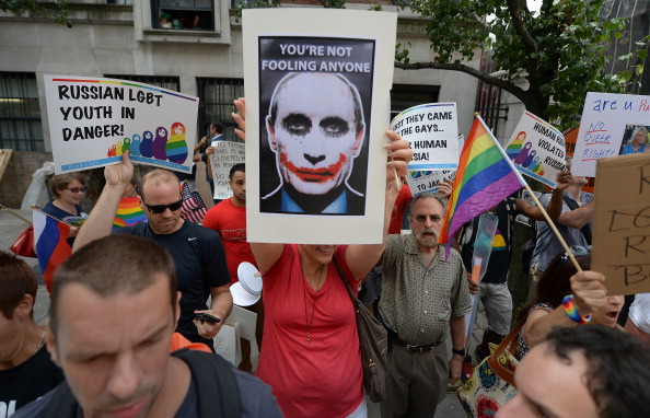 The introduction of Russias anti-gay bill sparked international outrage