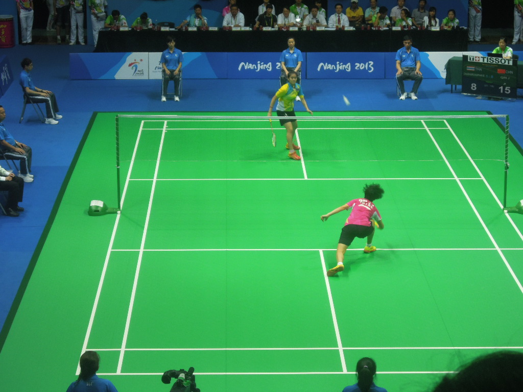 The women's singles badminton won by Chinese star Qin Jinjing was one of the highlights of the week at the Asian Youth Games