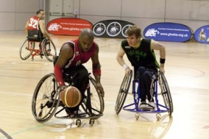 A special wheelchair basketball programme has been set up by Germany's Horst Frantzens