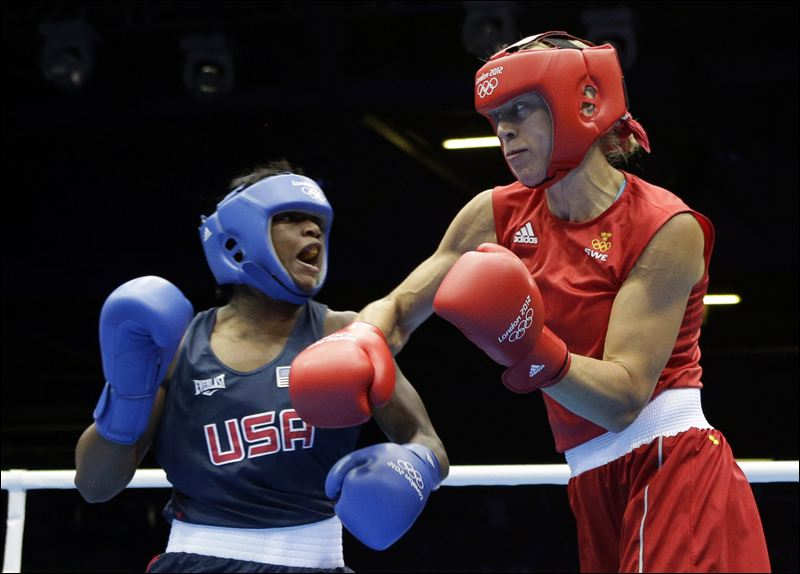 Womens boxing London 2012