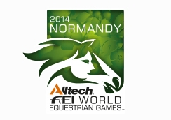 Test events are underway for the 2014 World Equestrian Games in Normandy