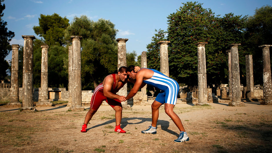 Wrestling went back to Olympia in bid to secure its Olympic future