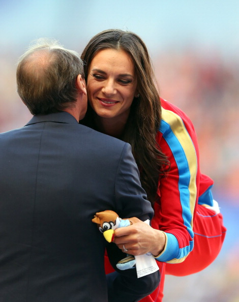 Yelena Isinbayeva sparked controversy when she appeared to back Russia's controversial anti-gay law although she later claimed she was misunderstood