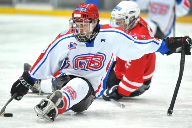 britain ice sledge hockey
