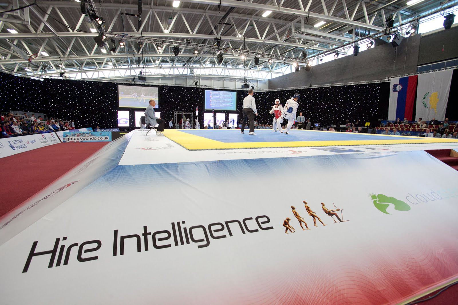 Hire Intelligence will remain as official technology rental partner for British Taekwondo for a second year with the responsibility of supplying information technology and audio visual equipment for live events.