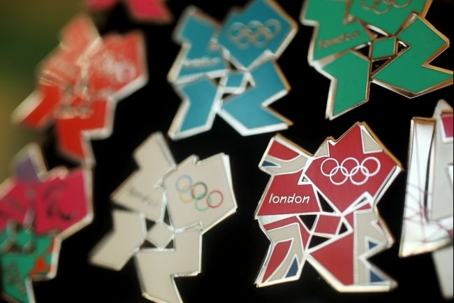 london 2012 logo pins