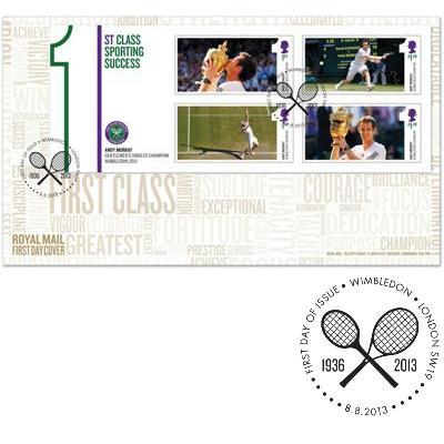 Andy Murray first day cover