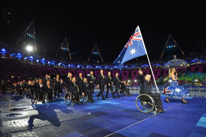 Australia London 2012 Closing Ceremony