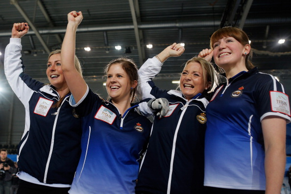 Eve Muirhead, Anna Sloan, Vicki Adams and Claire Hamilton are the first athletes to be selected for the Great Britain squad at Sochi 2014