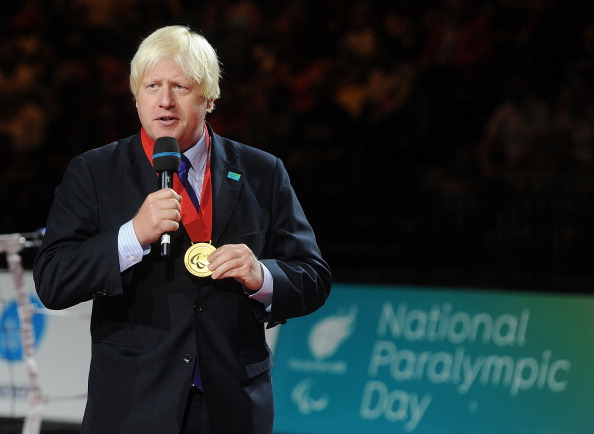 Mayor of London Boris Johnson has been presented with the Paralympic Order for his contributions to the London 2012 Paralympic Games