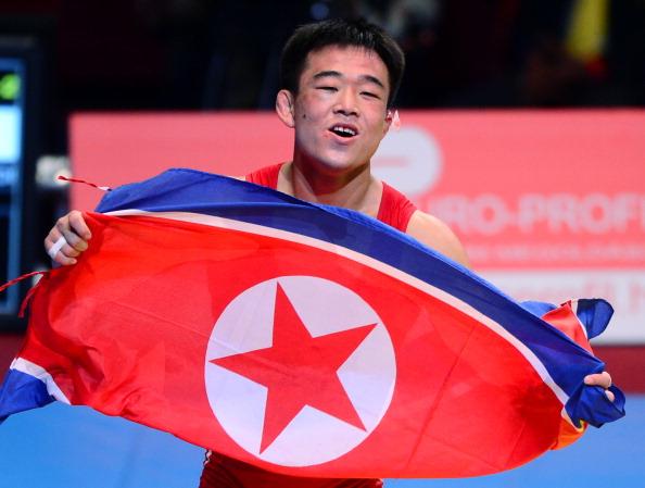 Yun Won Chol has become North Koreas first Greco-Roman world champion