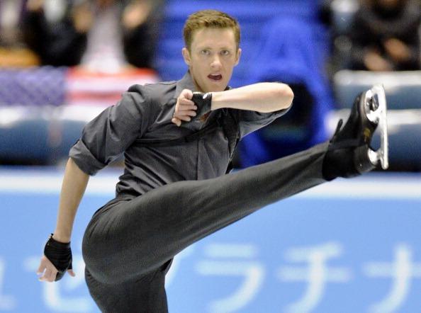 2013 US Figure Skating men's short programme champion Jeremy Abbott