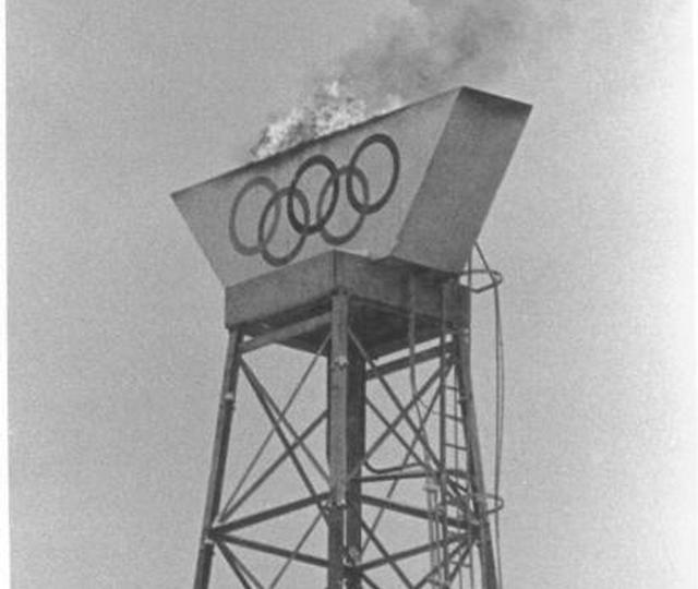 A flame had burned from a tower at the 1936 Winter Games in Garmisch-Partenkirchen