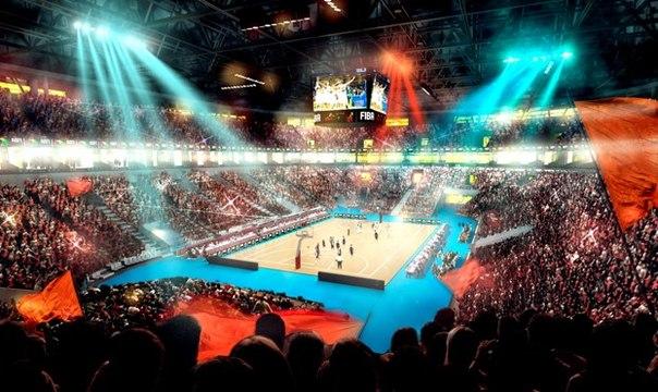 A proposed venue for Eurobasket 2015 in Ukraine