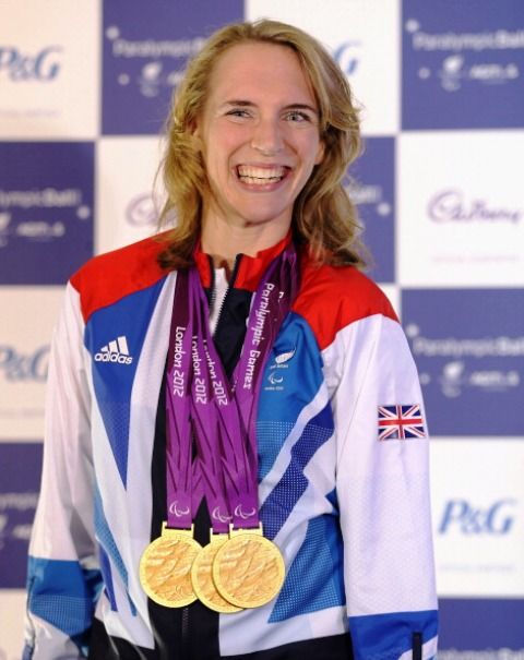 A smiling Sophie Christiansen will be at the Olympic Park on September 7 to mark National Paralympic Day