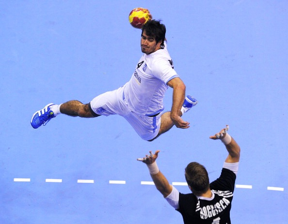 Action from the 2013 IHF World Championships in Spain