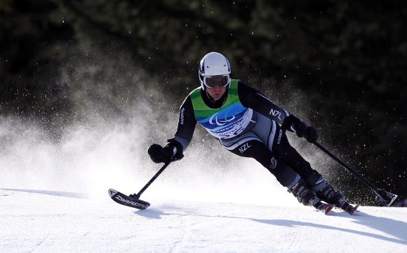 Adam Hall won New Zealand's sole medal of the Vancouver 2010 Winter Paralympics